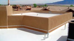 Enchanted Roofing installs TPO
