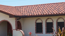 Enchanted Roofing installs tile roofing